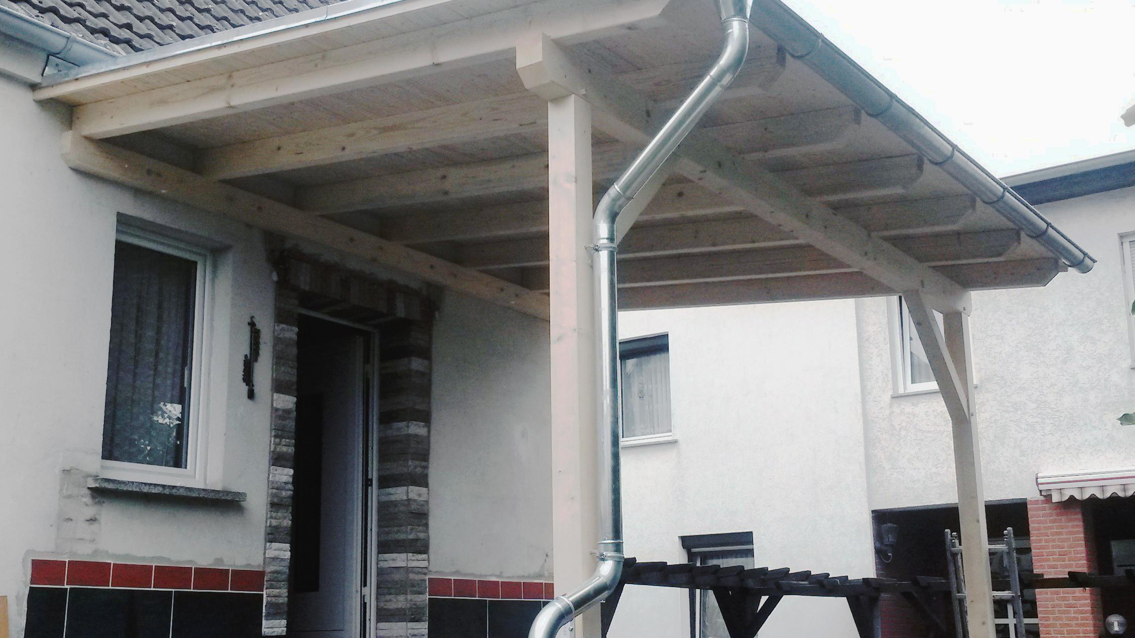 Dachwerk mathias beck dachdecker putlitz prignitz for Holzkonstruktion carport